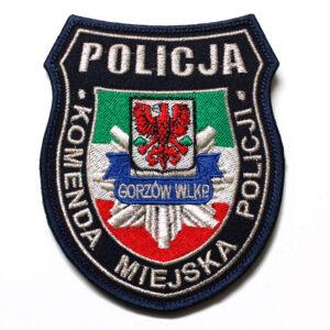 Gorzów Wlkp. – Naszywka Policja Komenda Miejska Policji Gorzów Wlkp. NPO1005 IND