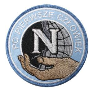 Naszywka Policja – Negocjator – Po Pierwsze Człowiek NPO1024 IND