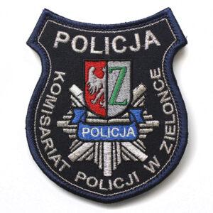 Zielonka – Naszywka policyjna emblemat Komisariat Policji w Zielonce NPO1056 IND
