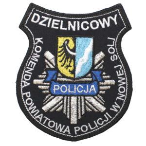 Nowa Sól – Naszywka Policja Komenda Powiatowa Policji w Nowej Soli NPO1099 IND