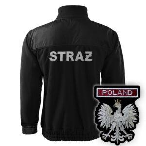 LUKSUSOWY Polar strażacki HAFT WZ06 Orzeł Polska