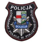 Połczyn-Zdrój – Naszywka Policja Komisariat Policji w Połczynie Zdroju NPO1064 IND