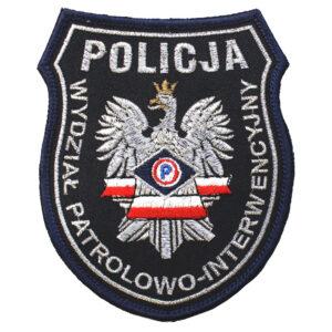 Naszywka naramienna Policja Wydział Patrolowo Interwencyjny IND