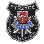 Pyrzyce – Naszywka Policja Komenda Powiatowa Policji Pyrzyce NPO1062 IND