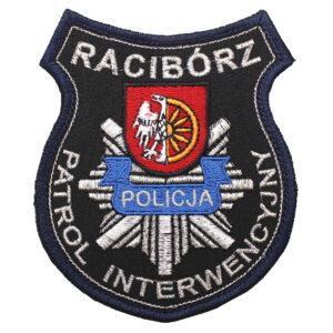 Racibórz – Naszywka Policja Patrol Interwencyjny w Raciborzu NPO1119 IND