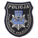Radków – Naszywka Policja Posterunek Policji Radków NPO1055 IND