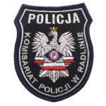 Radlno – Naszywka Policja Komisariat Policji Radlno NPO1114 IND