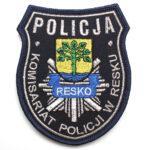 Resko – Naszywka Policja Komisariat Policji w Resku NPO1092 IND