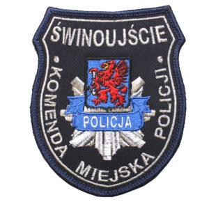 Świnoujście – Naszywka policja Świnoujście Komenda Miejska Policji NPO1053 IND