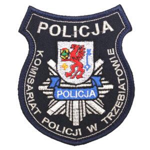 Trzebiatowo – Naszywka policja Komisariat Policji w Trzebiatowie NPO1065 IND