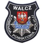 Wałcz – Naszywka Policja Komenda Powiatowa Policji Wałcz NPO1101 IND