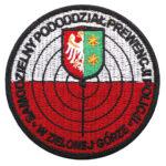 Zielona Góra – Naszywka Policja – Samodzielny Pododdział Prewencji Policji w Zielonej Górze NPO1122 IND