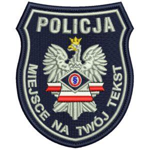 Naszywka Policja Służba Kryminalna IND B4