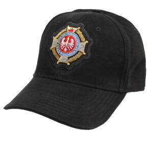 Czapka strażacka z daszkiem WZ02 HAFT Krzyż OSP