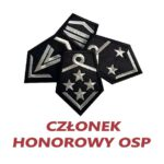 Dystynkcje CZŁONEK HONOROWY OSP na kołnierz
