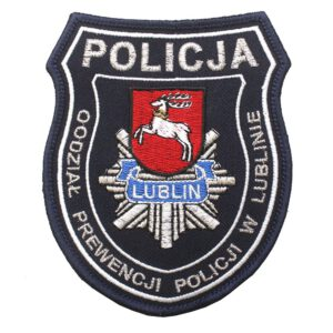 Lublin – Naszywka Policja – Oddział Prewencji Policji w Lublinie NPO1132 IND