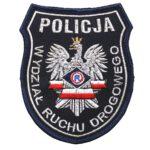 Naszywka naramienna Policja Wydział Ruchu Drogowego IND
