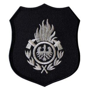 Emblemat naramienny, naszywka na mundur Straż OSP ognik WZ01