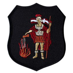 Emblemat naramienny, naszywka na mundur Straż OSP Święty Florian WZ08
