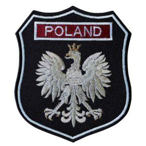 Emblemat naramienny, naszywka na mundur Straż OSP Orzeł Polski POLAND WZ06