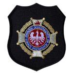 Emblemat naramienny, naszywka na mundur Straż Krzyż Związkowy OSP WZ02