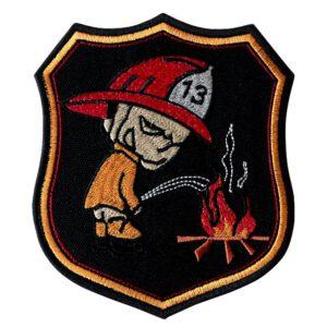 Emblemat naramienny, naszywka na mundur Straż OSP Sikacz WZ12