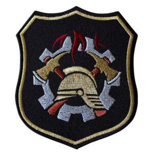 Emblemat naramienny, naszywka na mundur Straż WSP WZ09