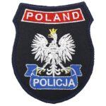 Naszywka Policja Poland Polski Orzeł IND