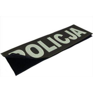 Duża naszywka POLICJA na plecy