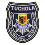 Tuchola – naszywka policja Ogniwo Patrolowo Interwencyjne Tuchola NPO1045 IND