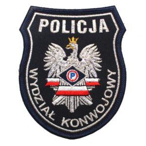 Naszywka naramienna Policja Wydział Konwojowy IND
