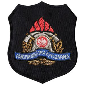 Emblemat naramienny, naszywka na mundur Straż PSP WZ05