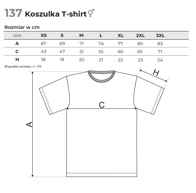 T-shirt piaskowy