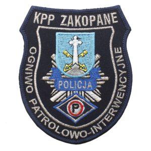 Zakopane – Naszywka Policja – Ogniwo Patrolowo-Interwencyjne NPO1134 IND