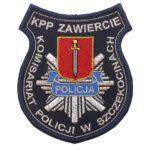 Zawiercie – Naszywka Policja – Komisariat Policji w Szczekocinach NPO1131 IND