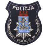 Pakość  – Naszywka Komisariat Policji w Pakości NPO1138 IND