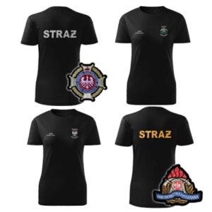 Koszulki t-shirt służbowe HAFT
