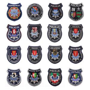 Naszywki policyjne baza wzorów
