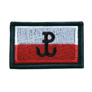 Naszywka Polska Walcząca flaga Polski