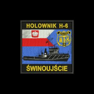 HOLOWNIK H-6 ŚWINOUJŚCIE naszywka wojskowa IND