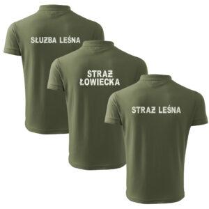 Koszulki Polo Straż Leśna