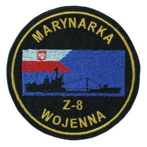 Marynarka Wojenna Z8 Naszywka Wojskowa IND