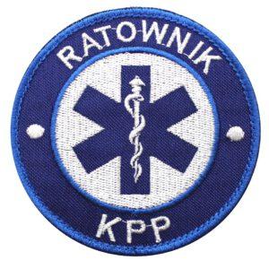 Naszywka Ratownik KPP 85mm – emblemat ratownik KPP