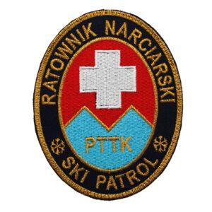 Naszywka Ratownik Narciarski – SKI PATROL IND