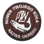 Naszywka PZW Polski Związek Wędkarski 85mm – PZW003