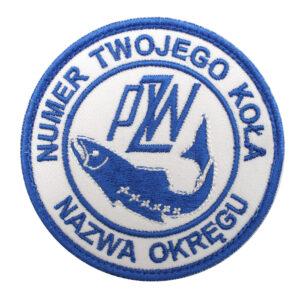 Naszywka PZW Polski Związek Wędkarski 85mm – PZW004