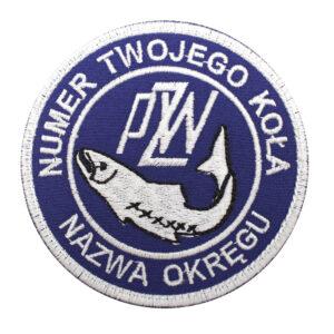 Naszywka PZW Polski Związek Wędkarski 85mm – PZW005