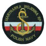 Marynarka Wojenna RP Polish Navy, naszywka wojskowa IND