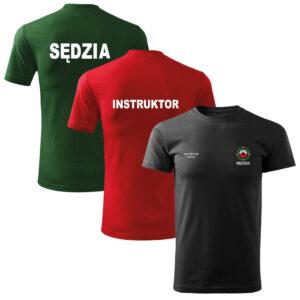 Koszulki t-shirt strzelectwo sportowe