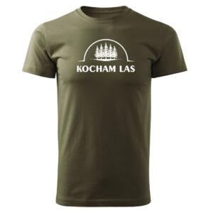 Kocham las, koszulka tshirt militarny z nadrukiem DTG061